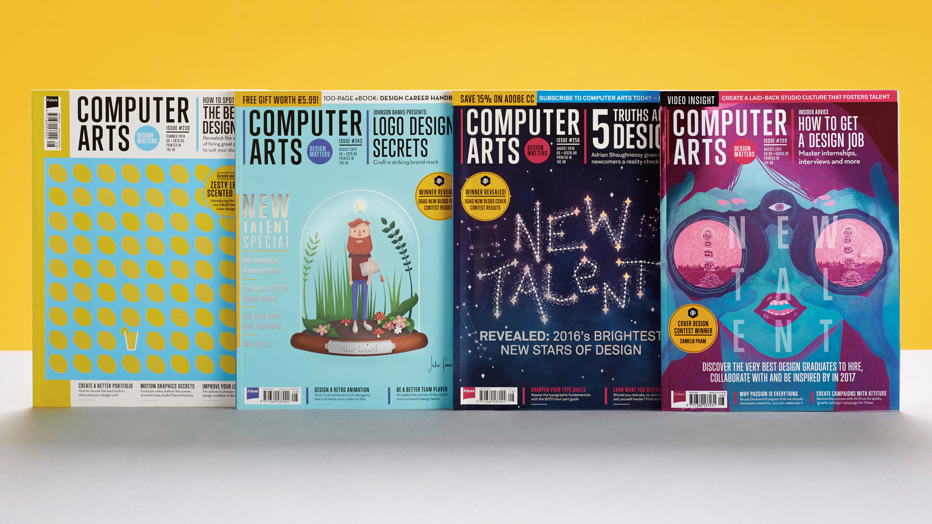 Computer Arts cover competition 2018
