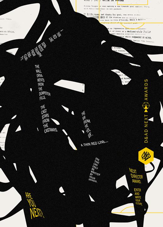 F/Nazca Saatchi & Saatchi D&AD posters