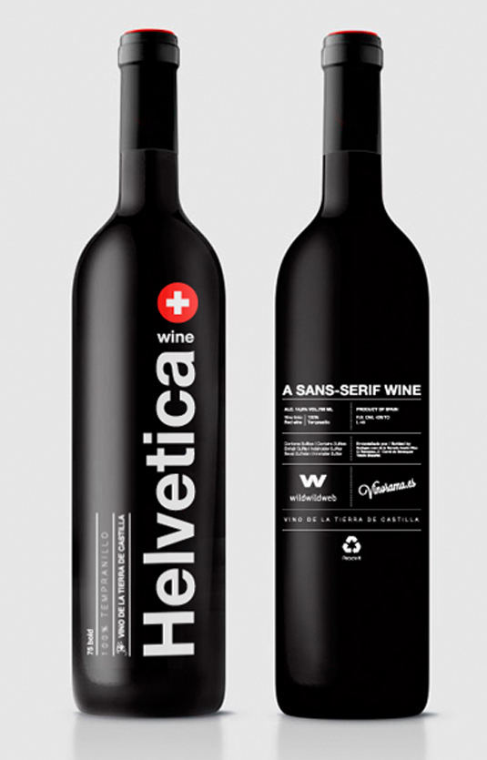 Helvetica wine