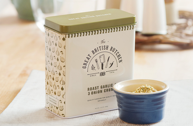 Design By Day for The Great British Butcher Roast Garlic