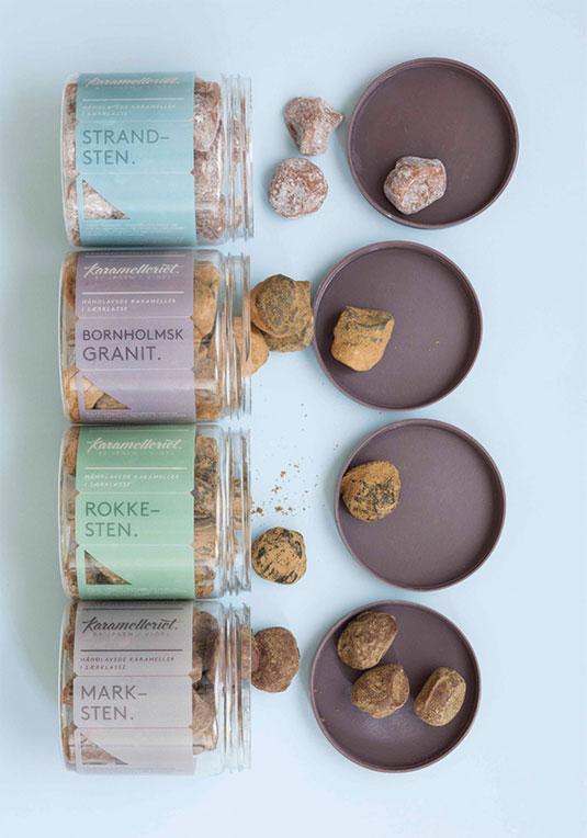 caramel packaging