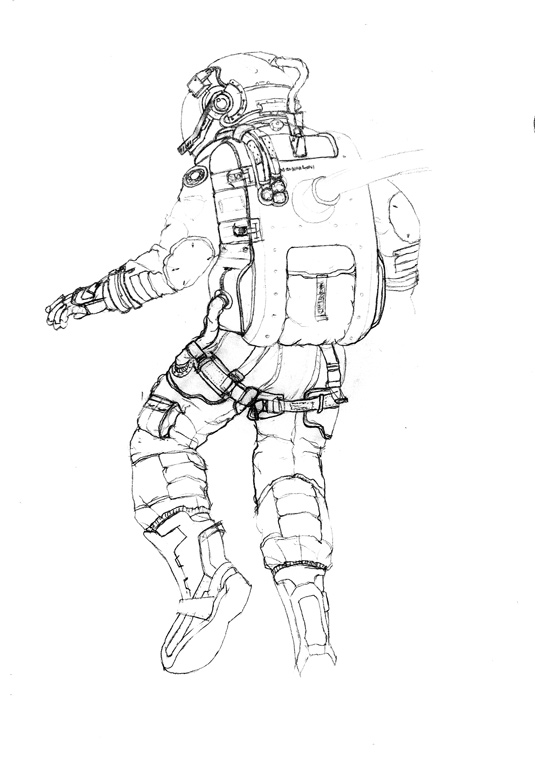 How to create a 3D spacesuit