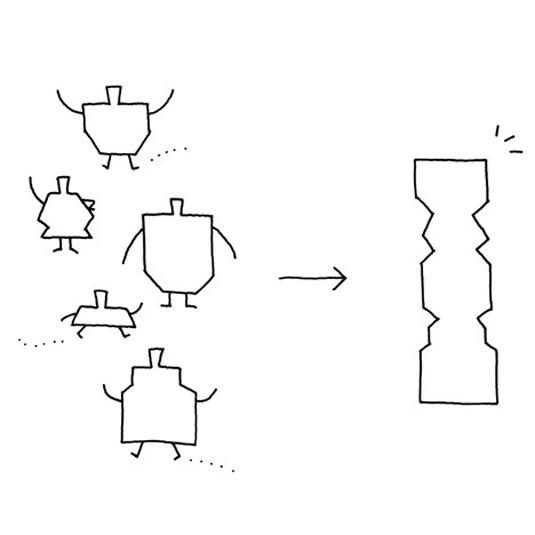Totem bottle concept