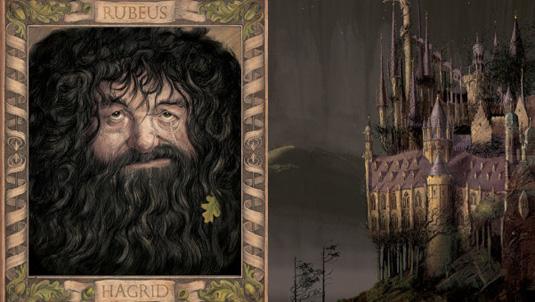 Chamber of Secrets Hagrid
