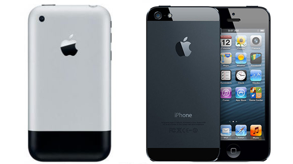 iPhone through the ages: just how much has it changed?