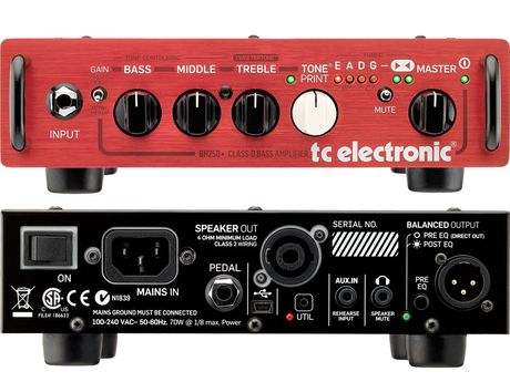 summer namm 2012 tc electronic bh250 bass head musicradar. Black Bedroom Furniture Sets. Home Design Ideas
