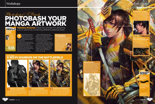 Create your best art this month with ImagineFX