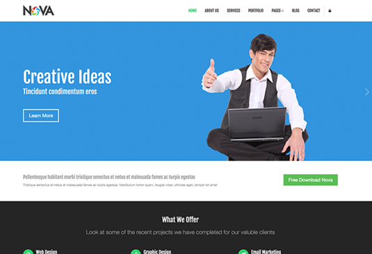 88b3ba22f0853a53899cba793ca69d15 12 great free Bootstrap themes - SEO