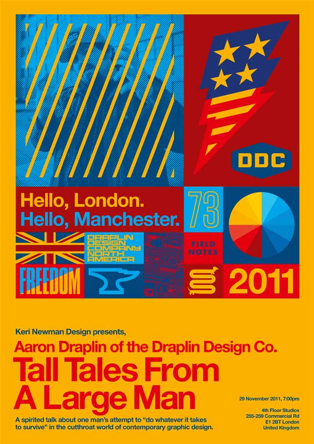 Aaron Draplin: Tall Tales From A Big Man poster