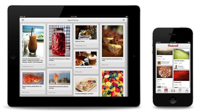 pinterest apps finally arrive on ipad android techradar. Black Bedroom Furniture Sets. Home Design Ideas