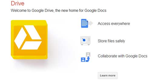 How to create a presentation: Google Drive