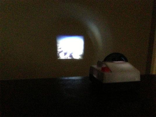instagram projector