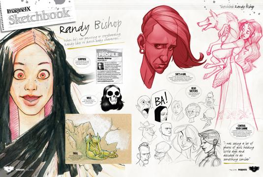 Imagine FX issue 134 - Randy Bishop