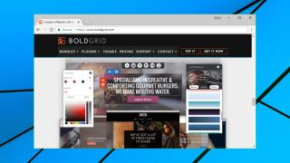 BoldGrid Website Builder home page