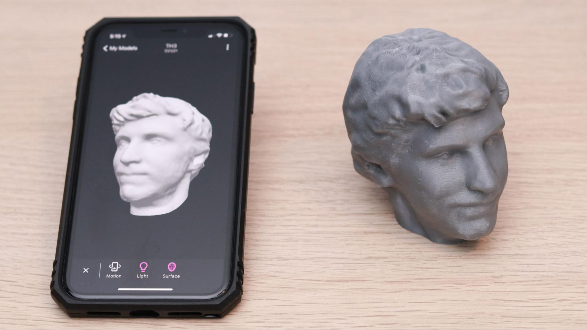 How to Make a 3D Printed Selfie With Your Phone