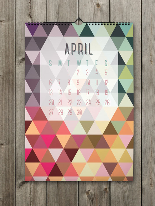 April Calendar Picture Ideas : Amazing calendar designs for creative bloq