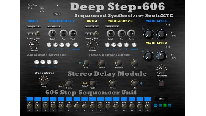 sonicxtc releases deep step 606 free vst synth step sequencer musicradar. Black Bedroom Furniture Sets. Home Design Ideas