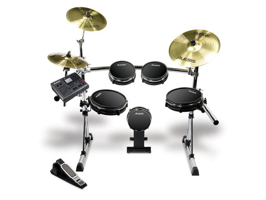 alesis announces dm10 electronic drum set musicradar. Black Bedroom Furniture Sets. Home Design Ideas