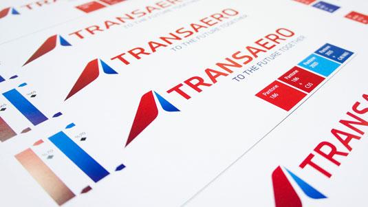 New Transaero typeface