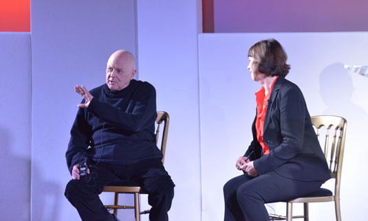 Michael Wolff on stage