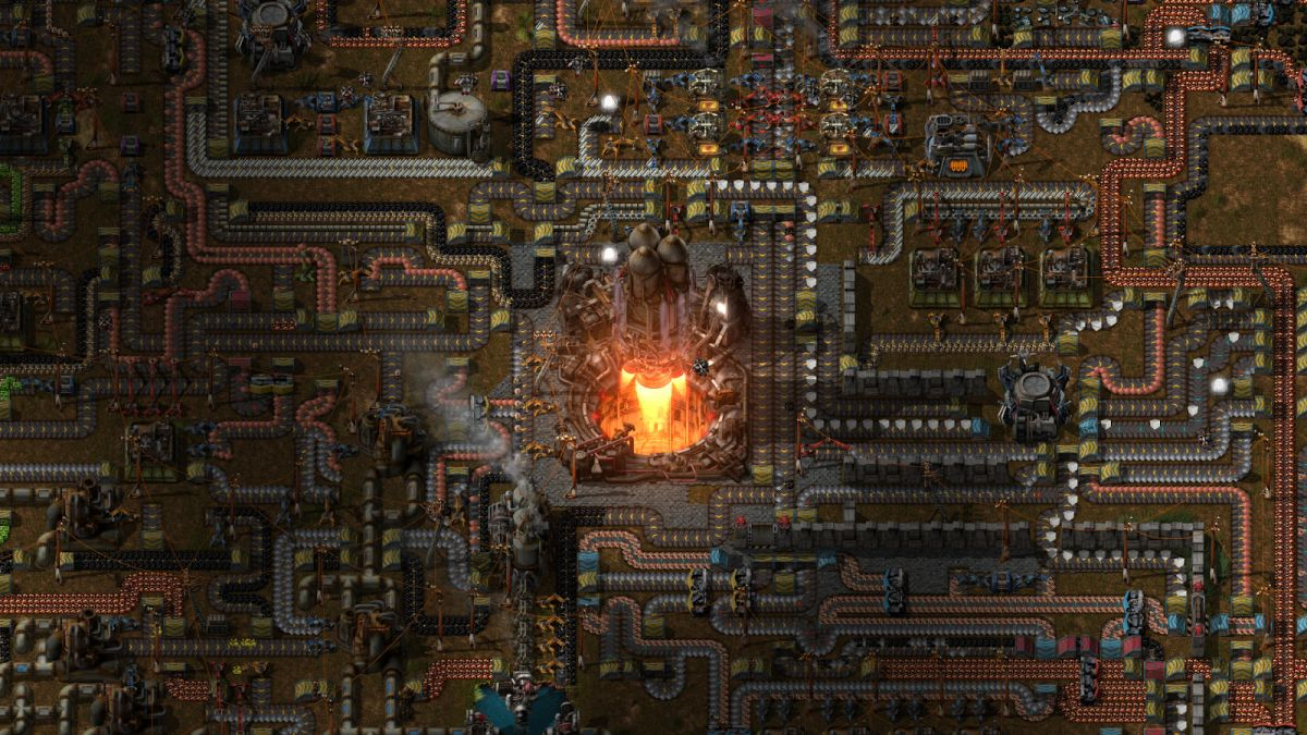 See what a Factorio factory looks like after 500 hours of work | PC ...