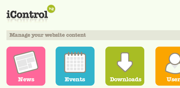 Updating your website content needn't be a chore, particularly if you go for an easy to use CMS such as iControl