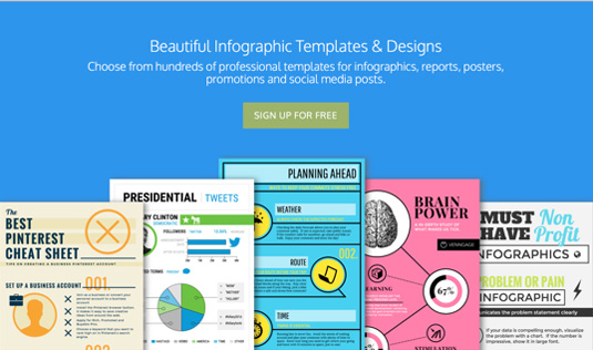 Best tools for creating infographics: Venngage