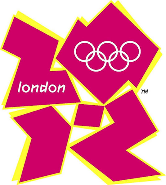 Colour schemes: The 2012 Olympics logo