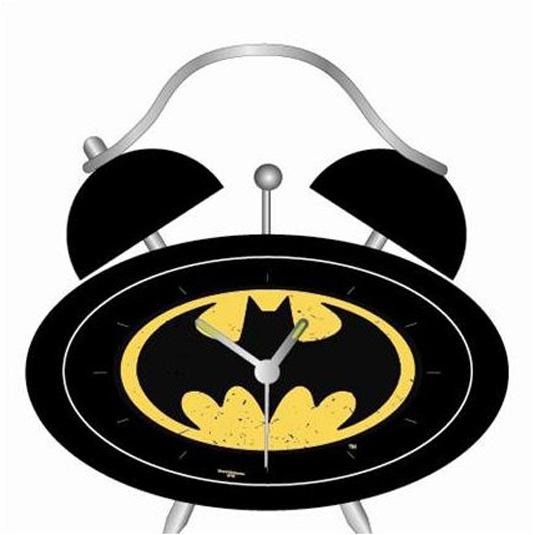 Batman merchandise: Clock