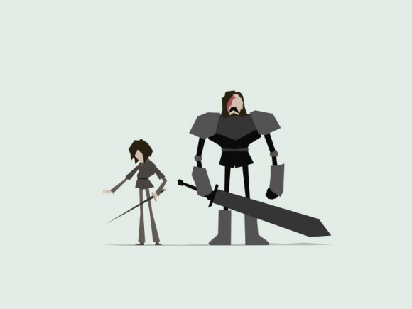 Game of Thrones minimal artwork