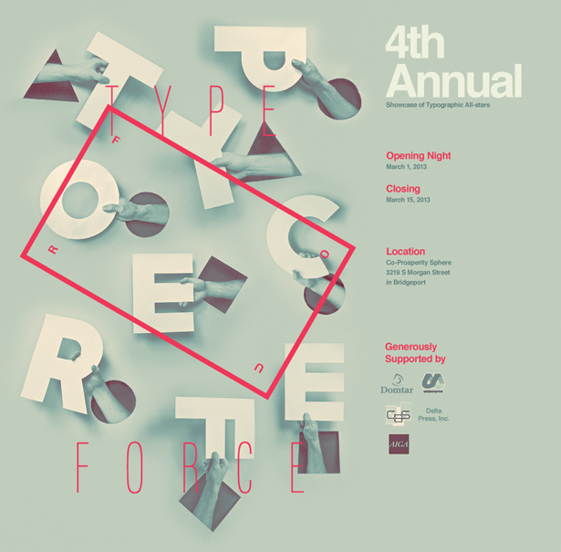 Will Miller's submissions poster for Typeforce 4
