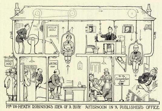 William Heath Robinson exhibition