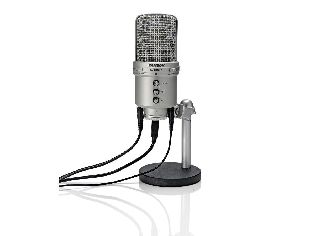 Samson G Track Interface Review Musicradar