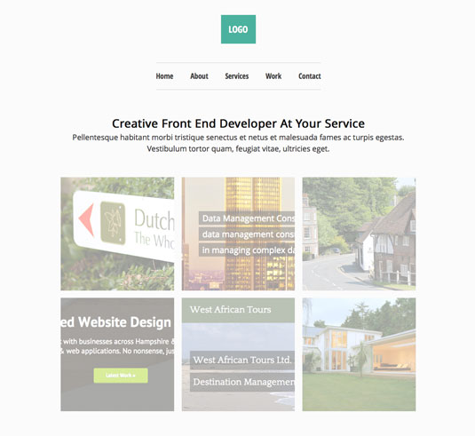 Website templates - Free Minimal Responsive Theme
