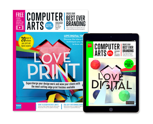 CA's Love Print / Love Digital issue made the most of both platforms