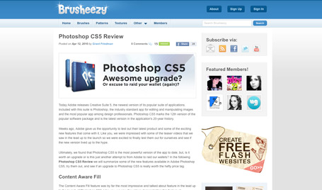 13. Photoshop CS5 - awesome upgrade or excuse to raid your wallet (again)?