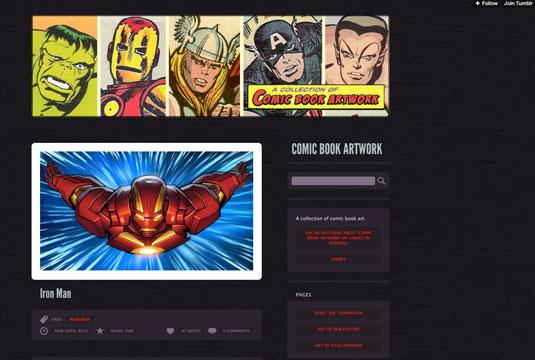 comic art resources