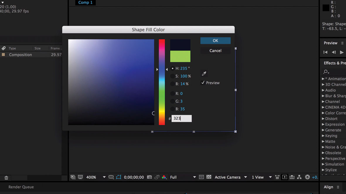 Design a branded loading animation: Add colour