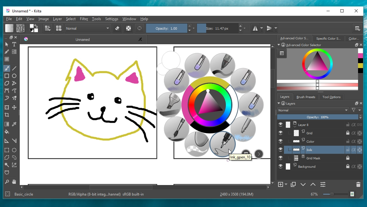 The best free painting software 2017 computer pro for Good art software