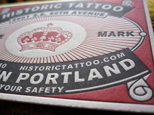 Portland tattoo parlour