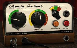 Acoustic Feedback s simple GUI shouldn t cause you too many headaches