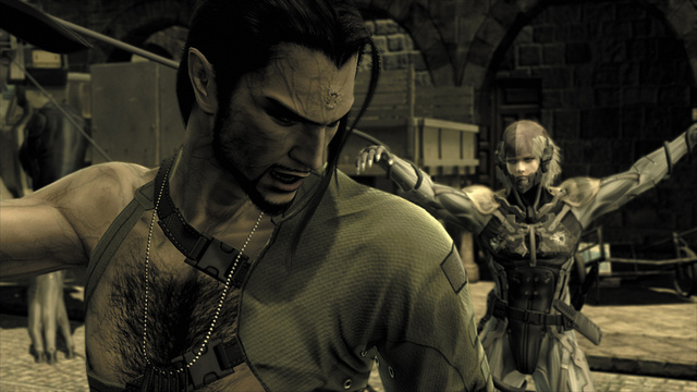 Figure 5.6 Individual cutscenes in Metal Gear Solid 4 could run an hour and a half