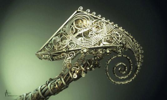 3D art: Chameleon