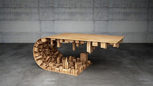 Inception desk
