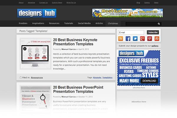 Free print design templates Designrshub