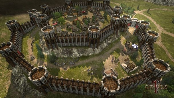 citadels a new medieval rts in the age of arthur pc gamer. Black Bedroom Furniture Sets. Home Design Ideas
