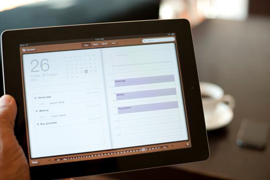 iPad iOS UI design