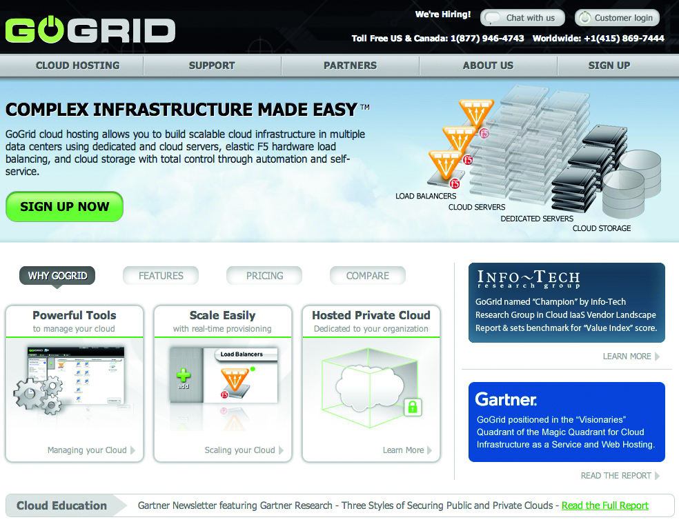 Want to use the cloud but also want your own physical machine? GoGrid do bare metal cloud