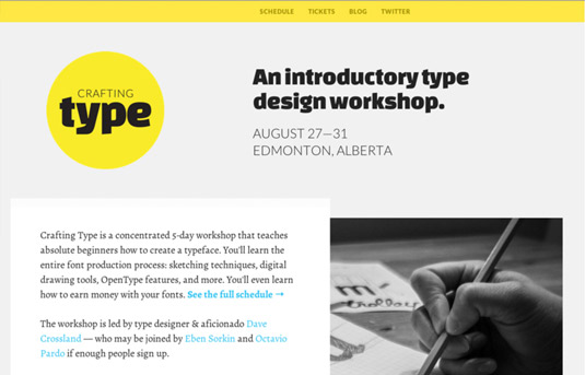Get started with type design: Crafting type