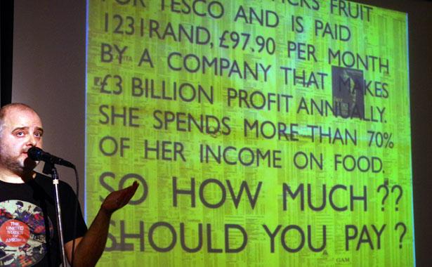 Typo London 2012: Noel Douglas of Occupy Design UK